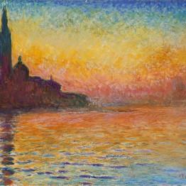 Claude Monet. Saint-Georges majeur au crépuscule