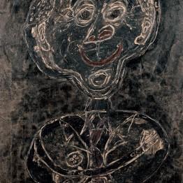 Jean Dubuffet. Ponge feu follet noir, 1947