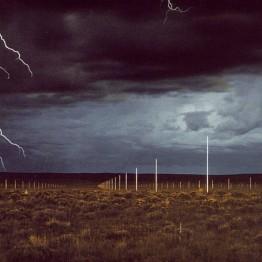 Walter de Maria. The Lightning Field