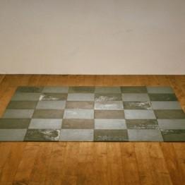 Obras de arte minimalista. Minimalismo. Carl Andre. Magnesium Squares, 1969