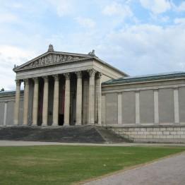 Leo von Klenze. Ziebland. Galería Real, Múnich