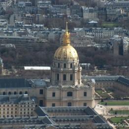 Mansart. Cúpula de los Invalidos, París