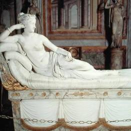 Antonio Canova. Paulina Borghese