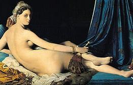 Ingres. La gran odalisca, 1814