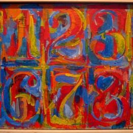 Jasper Johns. 0-9, 1960