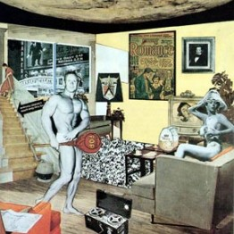 Richard Hamilton. Just what is it that makes today's homes so different, so appealing?, 1956