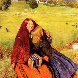 Millais. The blind girl