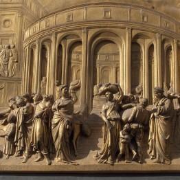 Ghiberti. Baptisterio de Florencia