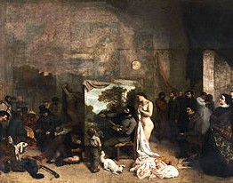 Pintura realista. Courbet representante del realismo en pintura