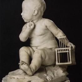Pigalle. El niño de la jaula, 1750