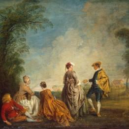 Watteau. Una proposición indecente