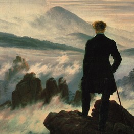 Friedrich. El viajero frente al mar de niebla