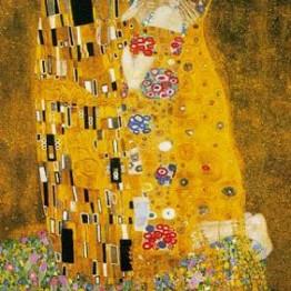 Gustav Klimt. El beso