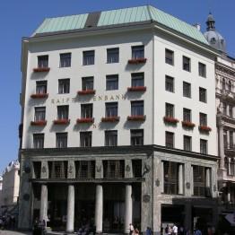 Adolf Loos. Edificio para Goldman&Salatsch en la Michaelerplatz de Viena, 1904