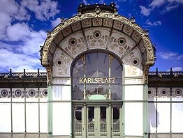 Otto Wagner. Pavillon Karlsplatz
