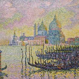 Paul Signac. Grand Canal (Venice), 1905