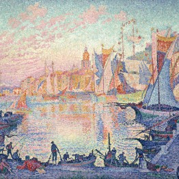 Paul Signac. The Port of Saint-Tropez, 1901