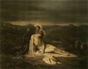 Gustave Moreau. Pieta