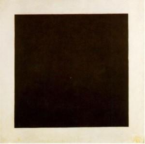 Kasimir Malevich. Cuadrado negro sobre fondo blanco