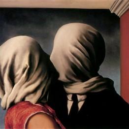 Surrealismo. Autor: Magritte. Los amantes