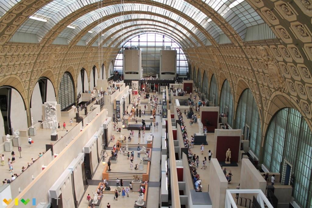 Maestros del impresionismo y obras en la Gran galería del Musée d´ Orsay
