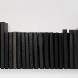 Ignasi Aballí. Libretas negras, 2008