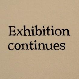 Ignasi Aballí Imagen texto (Exhibition continues), 2012