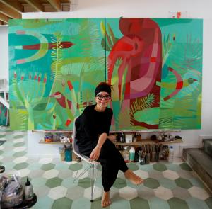 """Marina Anaya presenta """"El verano invencible"""" en la Galería acuadros"""
