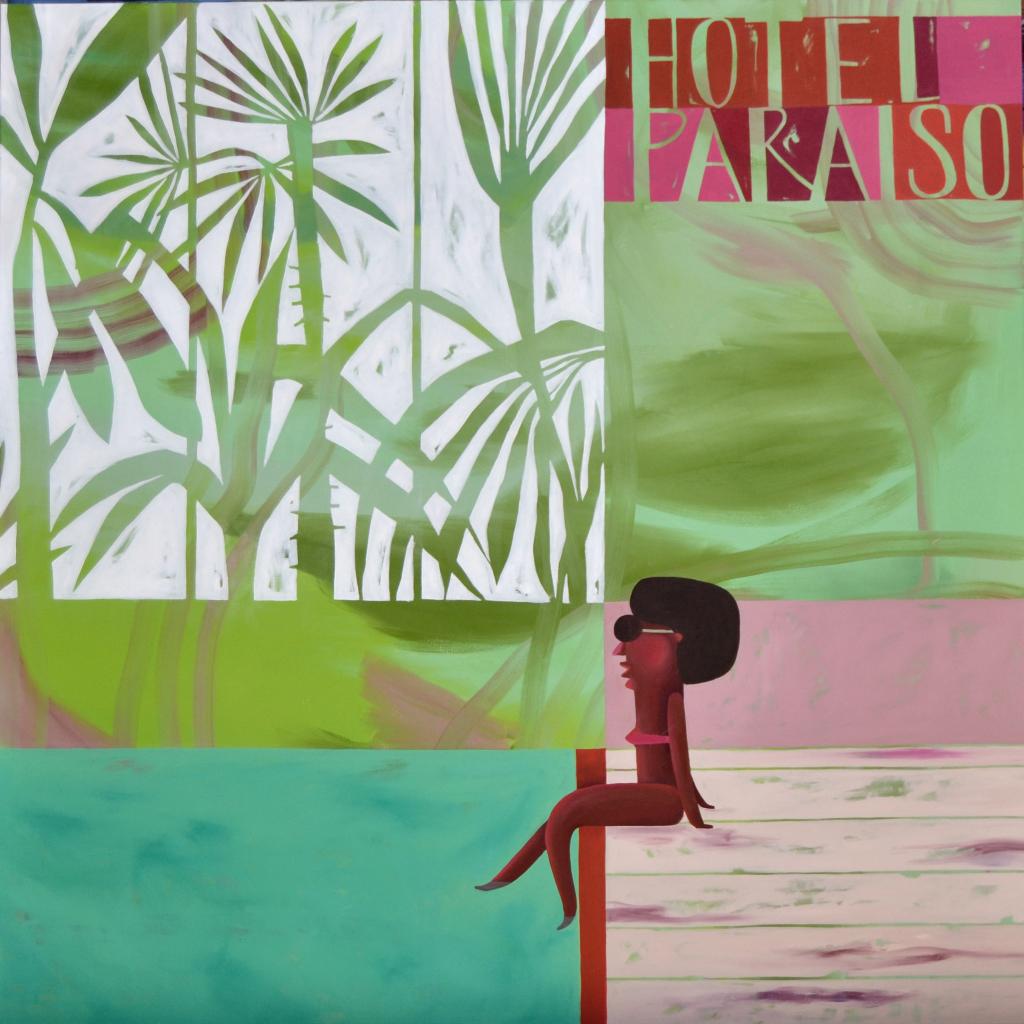Marina Anaya. Hotel Paraíso