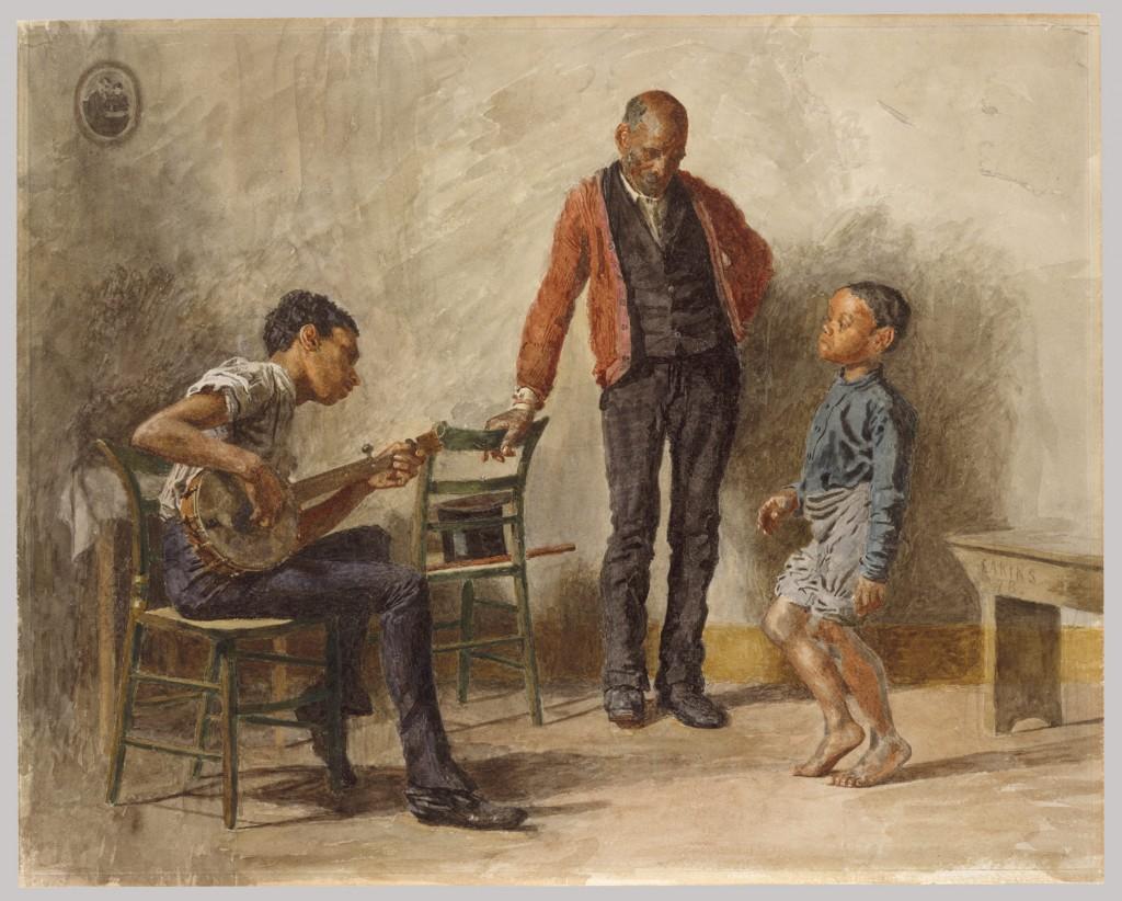 Thomas Eakins. The Dancing Lesson (Negro Boy Dancing), 1878