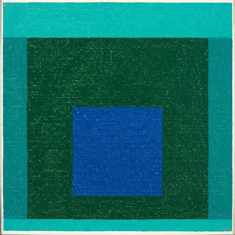 Josef Albers. Homage to the Square, 1959