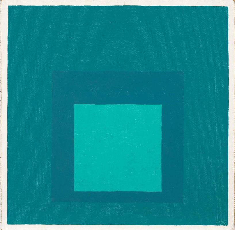 Josef Albers. Study for Homage to the Square, 1963