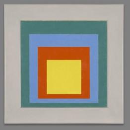 Josef Albers. Homenaje al cuadrado, 1950