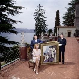 Chema Conesa. Los Thyssen en Villa Favorita. Lugano 1989. © Chema Conesa