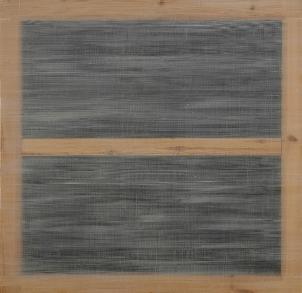 Ignasi Aballí. Pell, 2001. Colección Cal Cego
