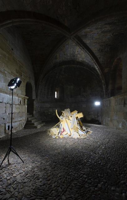 Antonio Fernández Alvira. El último resplandor. Museo de Huesca