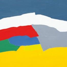 Etel Adnan. Sin título, 2010. Colección particular