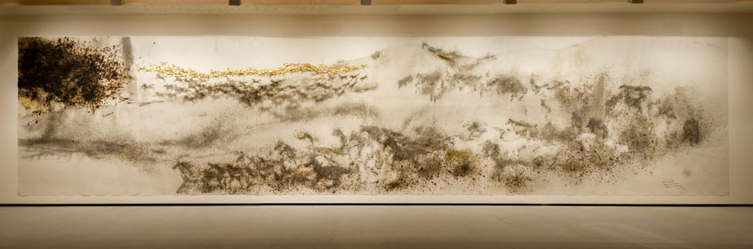 Cai Guo-Qiang. Noventa y nueve caballos