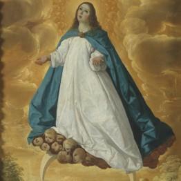 Francisco de Zurbarán. Inmaculada Concepción, hacia 1625-1630. Madrid, Museo Nacional del Prado. Donación Plácido Arango