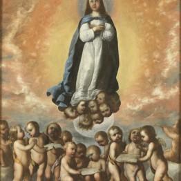 Francisco de Zurbarán. Inmaculada Niña, 1656. Madrid, Museo Nacional del Prado. Donación Plácido Arango