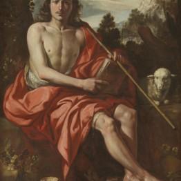 Antonio del Castillo. San Juan Bautista, hacia 1645. Madrid, Museo Nacional del Prado. Donación Plácido Arango