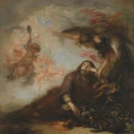 Francisco Herrera el Mozo. El sueño de San José, hacia 1662. Madrid, Museo Nacional del Prado. Donación Plácido Arango