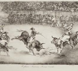 Francisco de Goya. El famoso americano Mariano Ceballos, 1825. Madrid, Museo Nacional del Prado. Donación Plácido Arango
