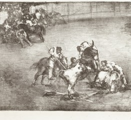 Francisco de Goya. Bravo toro, 1825. Madrid, Museo Nacional del Prado. Donación Plácido Arango