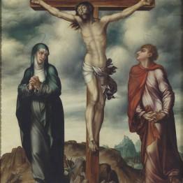 Luis de Morales. La Crucifixión, hacia 1566. Madrid, Museo Nacional del Prado. Donación Plácido Arango