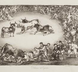 Francisco de Goya. Dibersión de España, 1825. Madrid, Museo Nacional del Prado. Donación Plácido Arango