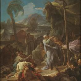Corrado Giaquinto. La serpiente de bronce, hacia 1743. Madrid, Museo Nacional del Prado. Donación Plácido Arango