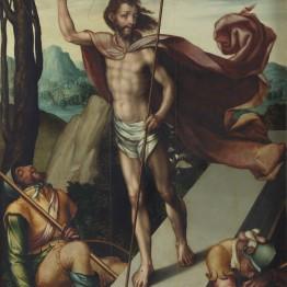 Luis de Morales. La Resurrección, hacia 1566. Madrid, Museo Nacional del Prado. Donación Plácido Arango