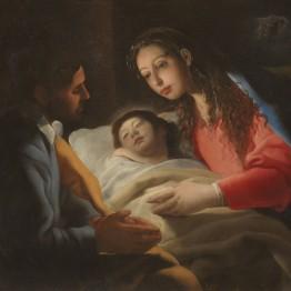 Eugenio Cajés. La Natividad, hacia 1610. Madrid, Museo Nacional del Prado. Donación Plácido Arango