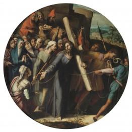 Pedro de Campaña. Camino del Calvario, hacia 1547. Madrid, Museo Nacional del Prado. Donación Plácido Arango